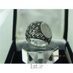 انگشتر نقره طرح هندسی رامینا 67-0215