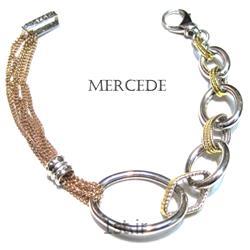 دستبند نقره طرح آی گل کد 1-0112