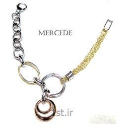 دستبند نقره طرح آی گل کد 3-0112