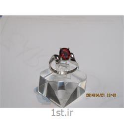 انگشتر نقره طرح هندسی رامینا 37-0215