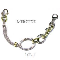 دستبند نقره طرح آی گل کد 4-0112