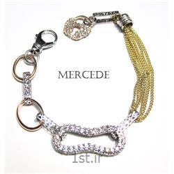دستبند نقره طرح آیشین کد 5-0113