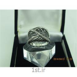 انگشتر نقره طرح هندسی رامینا 61-0215