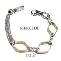 دستبند نقره طرح آمادیس کد 4-0111