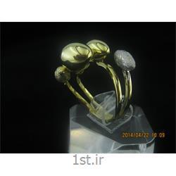 انگشتر نقره طرح هندسی رامینا 26-0215