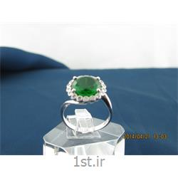 انگشتر نقره طرح هندسی رامینا 33-0215