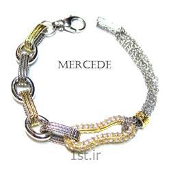 دستبند نقره طرح آیشین کد 4-0113