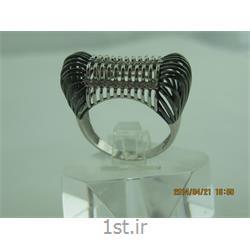 انگشتر نقره طرح هندسی رامینا 48-0215