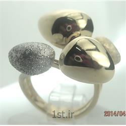 انگشتر نقره طرح هندسی رامینا 20-0215