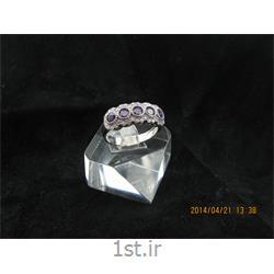 انگشتر نقره طرح هندسی رامینا 36-0215