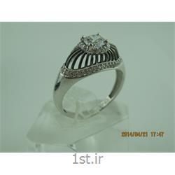 انگشتر نقره طرح هندسی رامینا77-0215