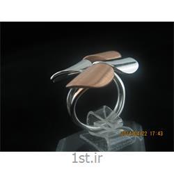 انگشتر نقره طرح هندسی رامینا 22-0215