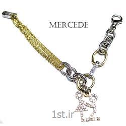 دستبند نقره طرح آینار کد5-0114