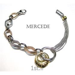 دستبند نقره طرح آی گل کد 7-0112