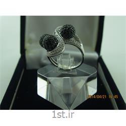 انگشتر نقره طرح هندسی رامینا 45-0215