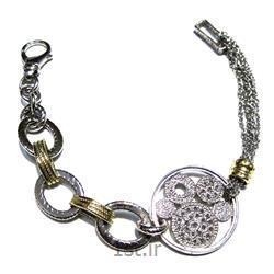 دستبند نقره طرح آرتمیس کد 4-0110