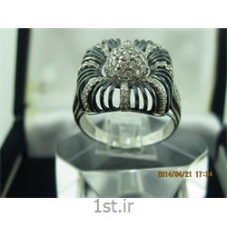 انگشتر نقره طرح هندسی رامینا70-0215