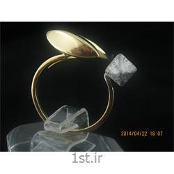 انگشتر نقره طرح هندسی رامینا 25-0215