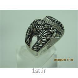 انگشتر نقره طرح هندسی رامینا69-0215