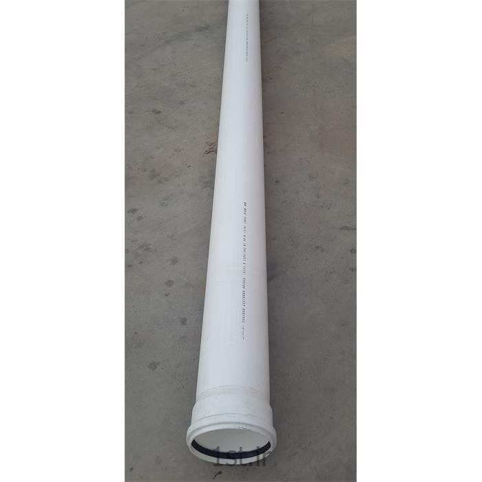 لوله پلی پروپیلن فاضلابی سایز 160 میلیمتر سفید-S20