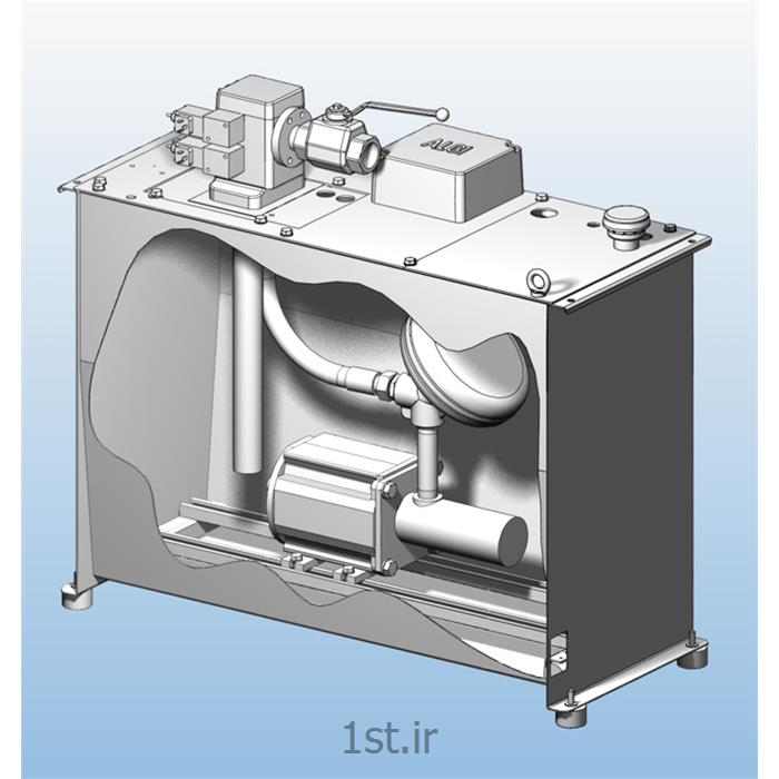 عکس تجهیزات آسانسورپاوریونیت آسانسور هیدرولیک مدل p34