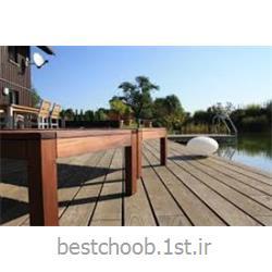 عکس سایر چوب های ساختمانیدکینگ چوبی ترمووود فنلاند