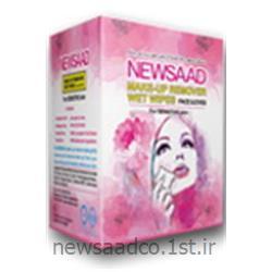 عکس دستمال مرطوبدستمال مرطوب - پاک کننده آرایش صورت و دور چشم (ساشه ای)