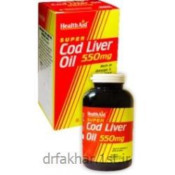 عکس سایر داروهاروغن کبد ماهی هلث اید Cod Liver Oil تعداد 90تایی