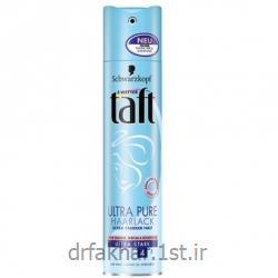 عکس محصولات حالت دهنده مواسپری مو Ultra Pure تافت
