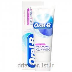 عکس خمیردندانخمیر دندان ترمیم کننده لثه و مینا Gentle Clean اورال بی