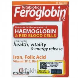 فروگلوبین ب 12 ویتابیوتیکس 30 عددی