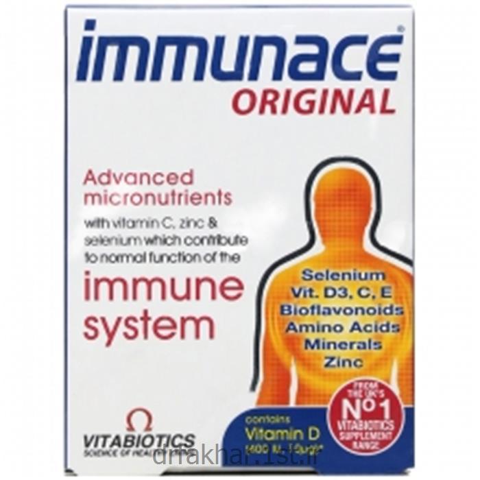 عکس مکمل های مراقبت از سلامتیایمیونس ویتابیوتیکس Vitabiotics Immunace