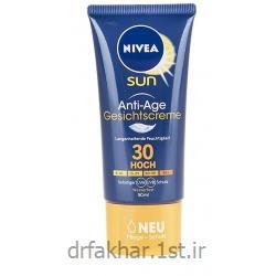 کرم ضد آفتاب و ضد چروک Gesichtscreme SPF30 نیوا 50 میل