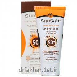 کرم ضد آفتاب SPF50 روشن کننده بژ روشن سان سیف 50میل