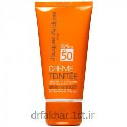 کرم ضد آفتاب SPF50 رنگی پوست چرب ژاک آندرل 50 میل