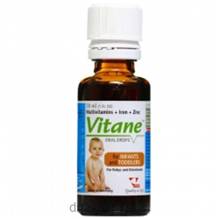 قطره ویتان (مولتی ویتامین + آهن + زینک)<