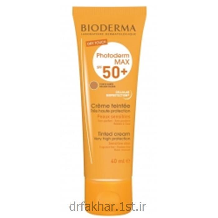 ضد آفتاب فتودرم مکس رنگی بژ SPF50+ بیودرما