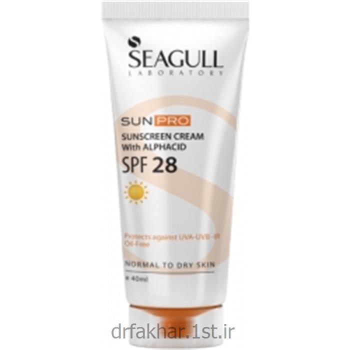 ضد آفتاب SPF28 فاقد چربی سی گل 40 میل