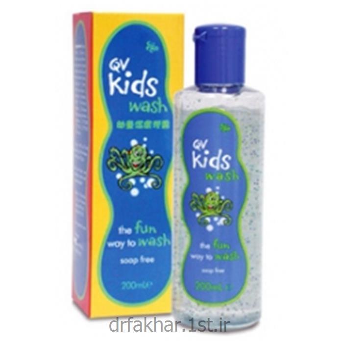 ژل شستشو کیووی کیدز واش (QV Kids wash)
