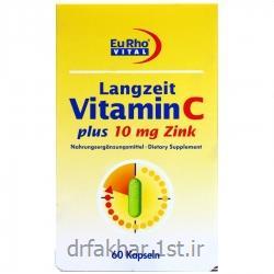 ویتامین ث + روی یورو ویتال 60 عدد