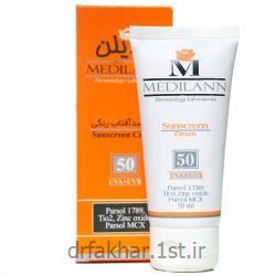 ضد آفتاب رنگی SPF50 مدیلن<