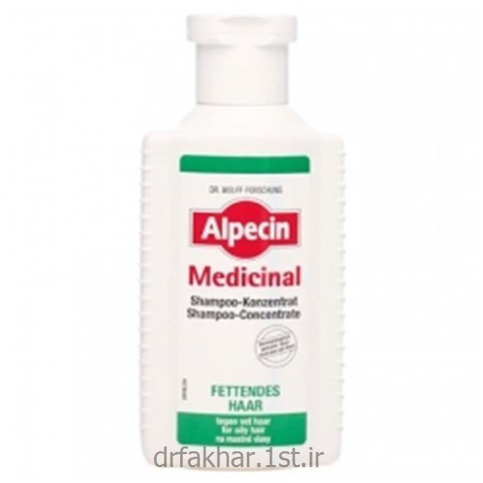 شامپوی موی چرب مدیسینال آلپسین