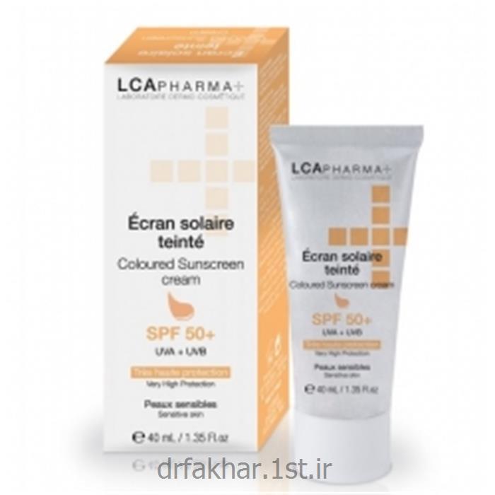 عکس کرم ضد آفتابضد آفتاب SPF50 رنگی LCA