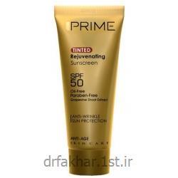 کرم ضد آفتاب جوان کننده SPF50 پریم