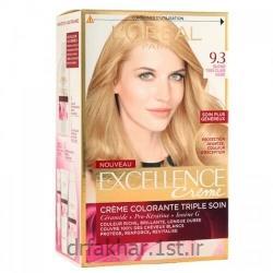 کیت رنگ مو اکسلانس لورآل شماره 9.3