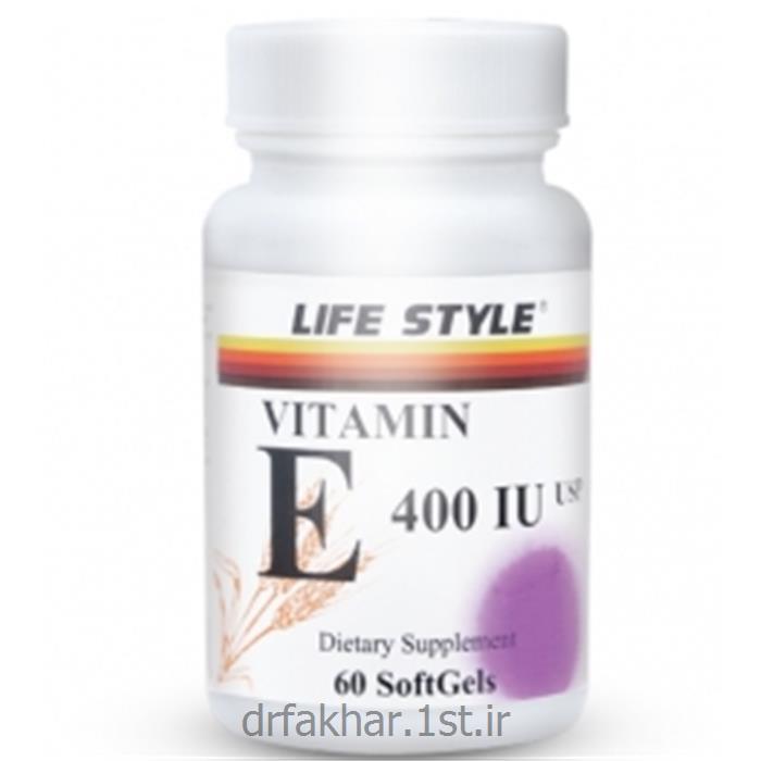 ویتامین E لایف استایل60عددی