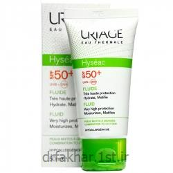 ضد آفتاب فاقد چربی SPF 50 هایسئک اوریاژ