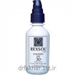 عکس کرم ضد آفتابضد آفتاب SPF30 مخصوص کودکان رکسول