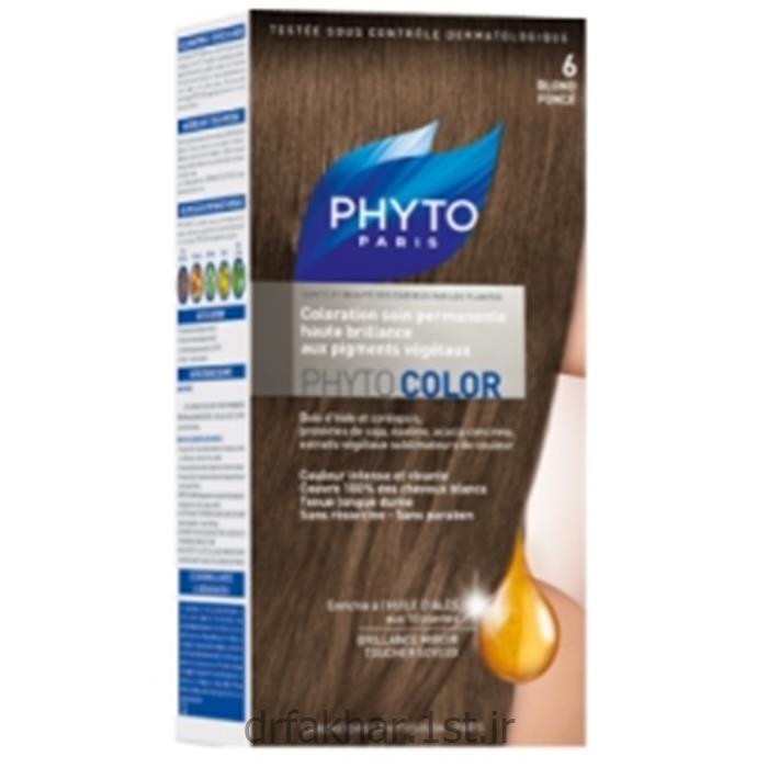 رنگ موی فیتو ( شماره 6 ) 40 میل