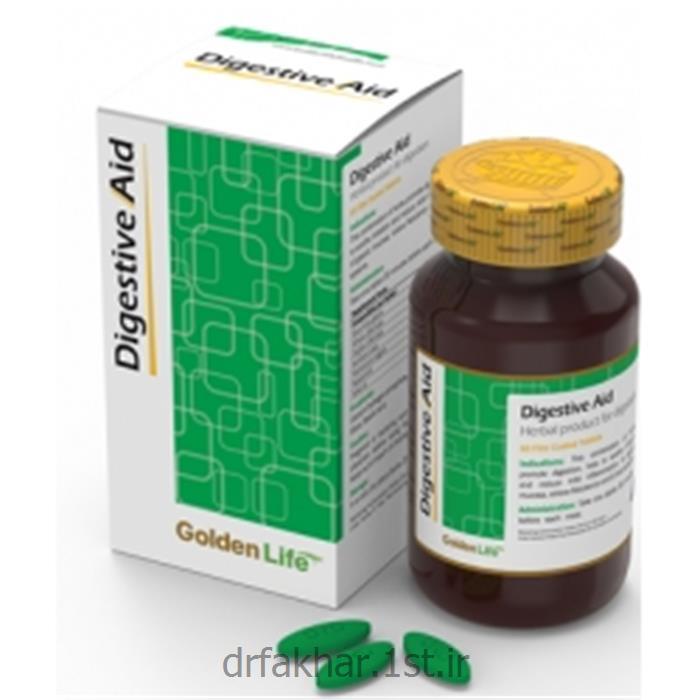 عکس مکمل های مراقبت از سلامتیدایجستیو اید گلدن لایف Golden Life Digestive Aid